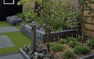 plantenbakken|weinig-onderhoud|beplantingsplan|kunstgras|