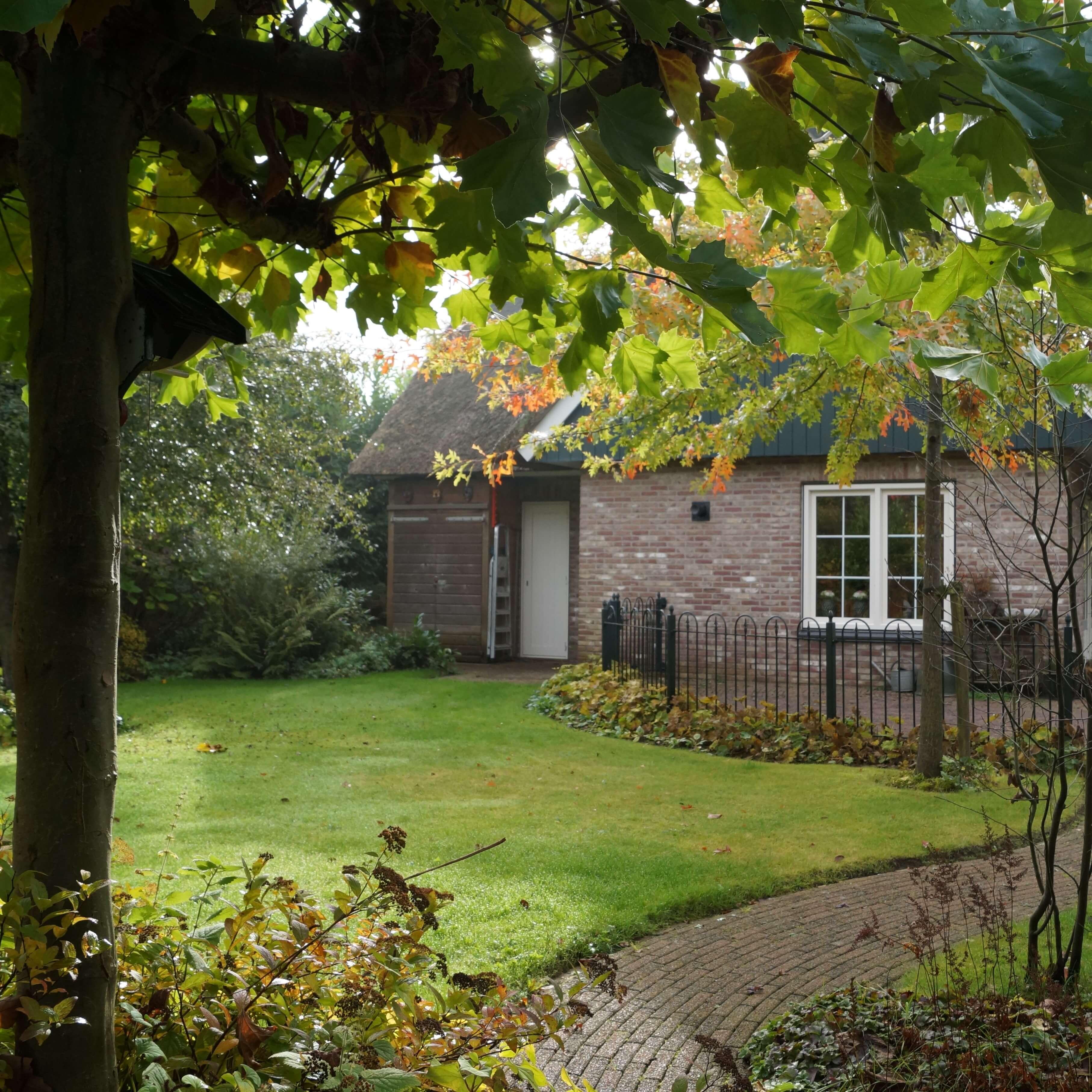 Landelijke tuin in Breda