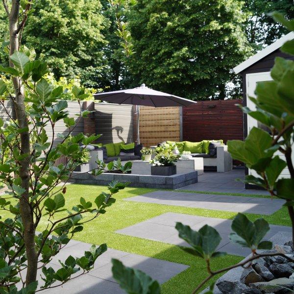Moderne tuin Oosterhout