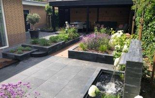Tuin strak met veranda Etten-leur 8
