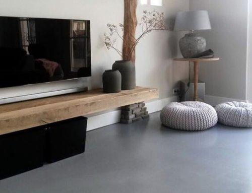 De vloer is de basis van elk interieur