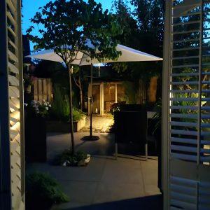 tuinontwerp|shutters|tuinverlichting|verlichtingsplan|