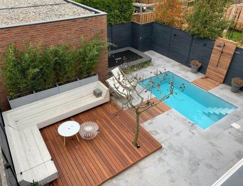 Ook een zwembad en trampoline in je tuin?
