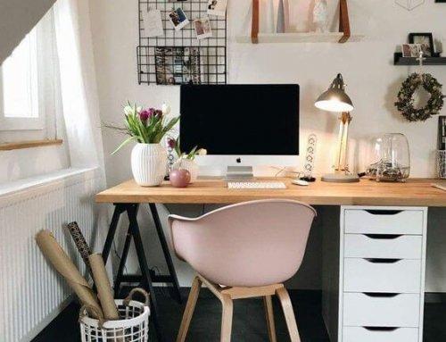 Tips om thuis een heerlijke werkplek in te richten